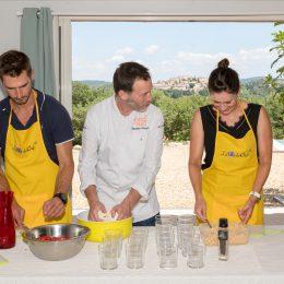Cours de cuisine avec des Chefs étoilés ou Champions des desserts